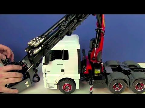 Review of an Incredible RC Truck 6×6 with Palfinger Crane