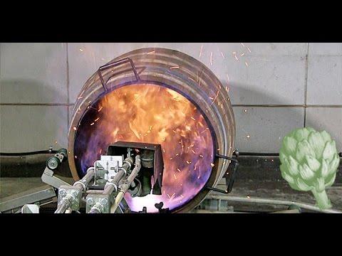 Charring a Whisky Barrel | Potluck Video