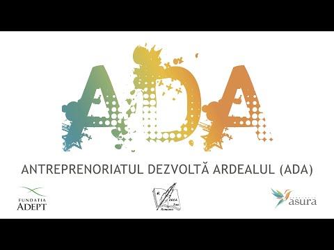 Antreprenoriatul Dezvoltă Ardealul (ADA)