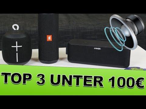 Die BESTEN Bluetooth Lautsprecher für unter 100 Euro im Test Review Deutsch
