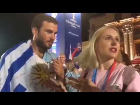 """Уругвайский болельщик: """"Уругвай выиграет у России - 1:0"""""""