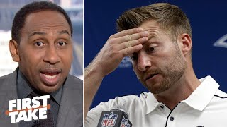 Stephen A.: The NFL might have figured out Sean McVay | First Take