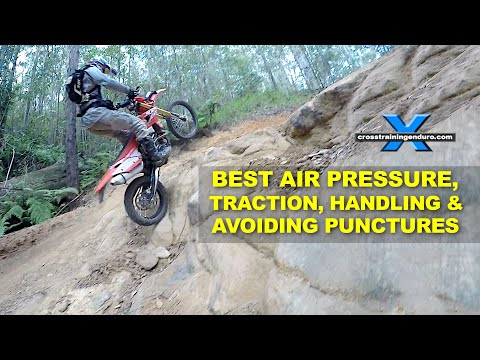 BEST TYRE PRESSURE, TRACTION & AVOIDING PUNCTURES
