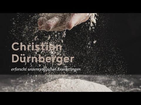 Christian Dürnberger erforscht unsere ethischen Erwartungen