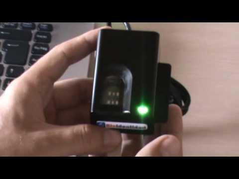 BioTronic - Lector FS82 de huellas dactilares y tarjetas inteligentes (smartcard)