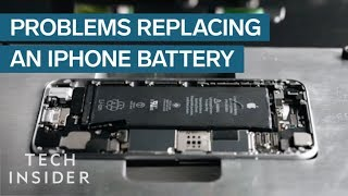 Why It's So Hard To Replace Your iPhone Battery