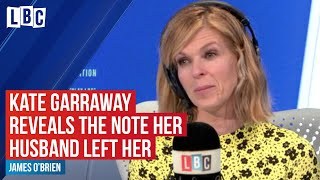 Kate Garraway reveals touching note her husband left for her before going into coma