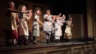 "A Work in Progress Presents 'Annie:' ""Never Fully Dressed"" with the orphans!"