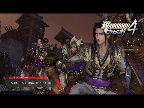 Warriors Orochi 4 - (SS-04) - Dispelling the Sorcery (All Objectives in Chaotic)