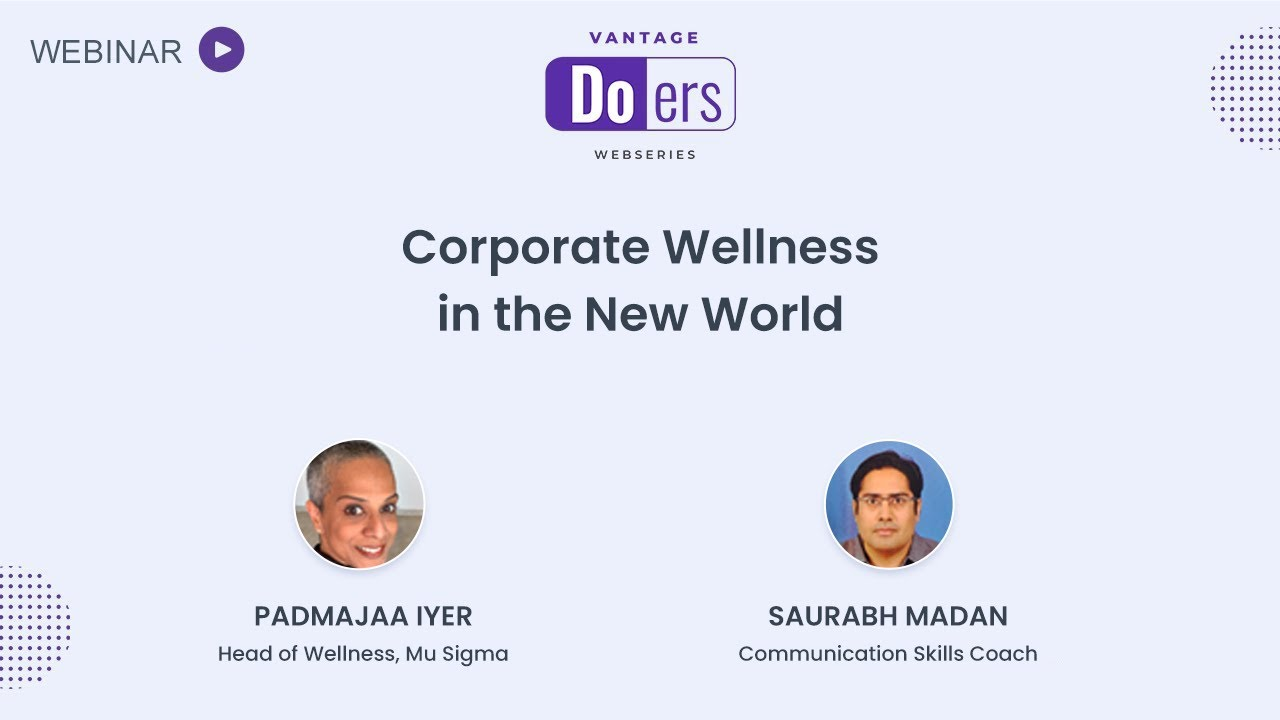 [On-demand Recording] Corporate Wellness in the New World