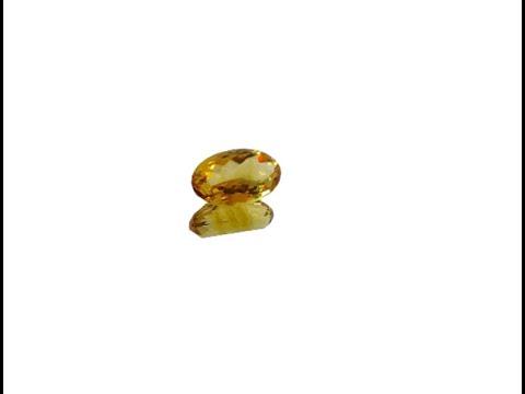6.70 Carat Citrine Gemstones