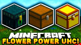 Minecraft FLOWER POWER UHC!