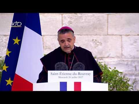 Cérémonie Civile en hommage au #PereHamel