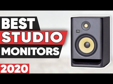 5 Best Studio Monitors in 2020