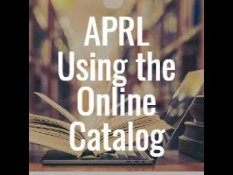 APS Stamp Chat: From the APRL-Updates to the Online Catalog