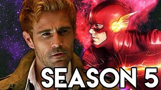 The Flash Season 5 CONFIRMED - Godspeed Speedster Villain Theory & Constantine Legends Scene