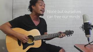 Ojie Cubillas - Redemption Song by Bob Marley (Acoustic Cover)