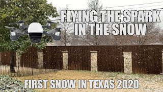 First Snow in Texas for 2020