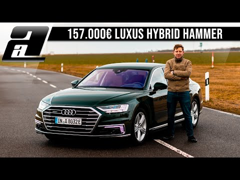 2020 Audi A8L 60tfsi e quattro | 157.000€ SUPER HYBRID | 449PS, 700Nm | REVIEW