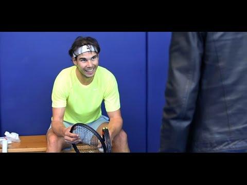Video Rafael Nadal Talks About His Babolat Pure Aero Tennis Racket Rafael Nadal Fans