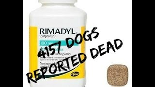 4157 Dogs Reported Dead From Rimadyl