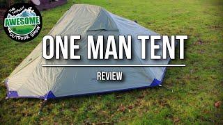 One Man Tent Review - Yellowstone Matterhorn    TA Outdoors