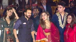 Saif Ali Khan's SH0KING Entry Wid Wife Kareena Infront Of EX-Wife AMRITA, Kids Sara & Ibrahim