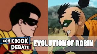 Evolution of All Robins in Cartoons in 35 Minutes (2018)