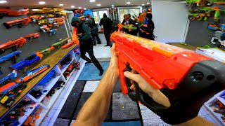 NERF CHRISTMAS ATTACK!
