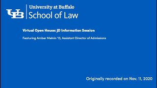 video of our JD information Session