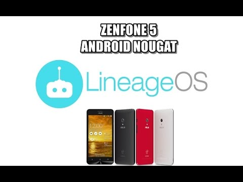 Android Nougat 7 1 1 on Asus Zenfone 5 - игровое видео смотреть