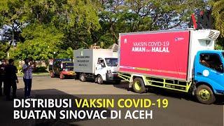 48.425 Dosis Vaksin Covid-19 Didistribusikan ke Kabupaten/kota di Aceh