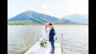 Calgary Wedding Photographer: Banff Tunnel Mountain Reservoir