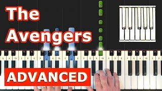 The Avengers Theme - Piano Tutorial Easy - Sheet Music (Synthesia)