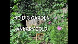 My No Dig Garden // January 2019 // Deep Mulching // Edible Garden NZ