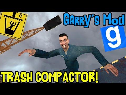 Garry's mod (Z kumplami) #182 - Trash Compactor! (#3) | ZGNIATACZE ŚMIERCI! /Zagrajmy w