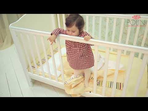 Детская растущая кровать трансформер Polini Simple 140х70