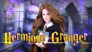 DIY - How To Make: Harry Potter Hermione Granger Custom Doll   Handmade Crafts   4K