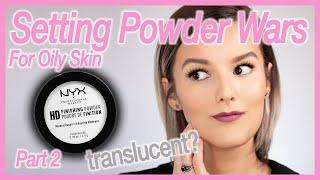 NYX HD Finishing Powder - Setting Powder Wars - Oily Skin (Drugstore Edition)