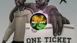 KISS DANIEL X DAVIDO – ONE TICKET