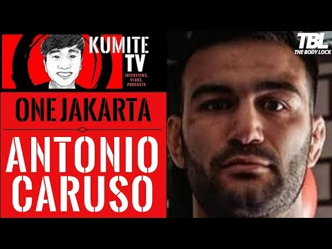 Antonio Caruso adamant on becoming a superstar with ONE Championship