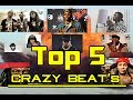 Top 5 Crazy Beat's Trap/Rap/RnB 2017/2016