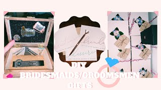DIY BRIDESMAIDS & GROOMSMEN GIFTS | WEDDING SERIES | ASHLEYSALONSO