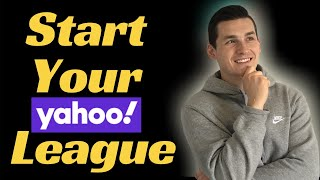 How to Make a Fantasy Football League Yahoo 2020 Step by Step mov