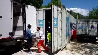 preview picture of video 'Terremoto Abruzzo 2009 - Campo di Piazza d'Armi (L'Aquila)'