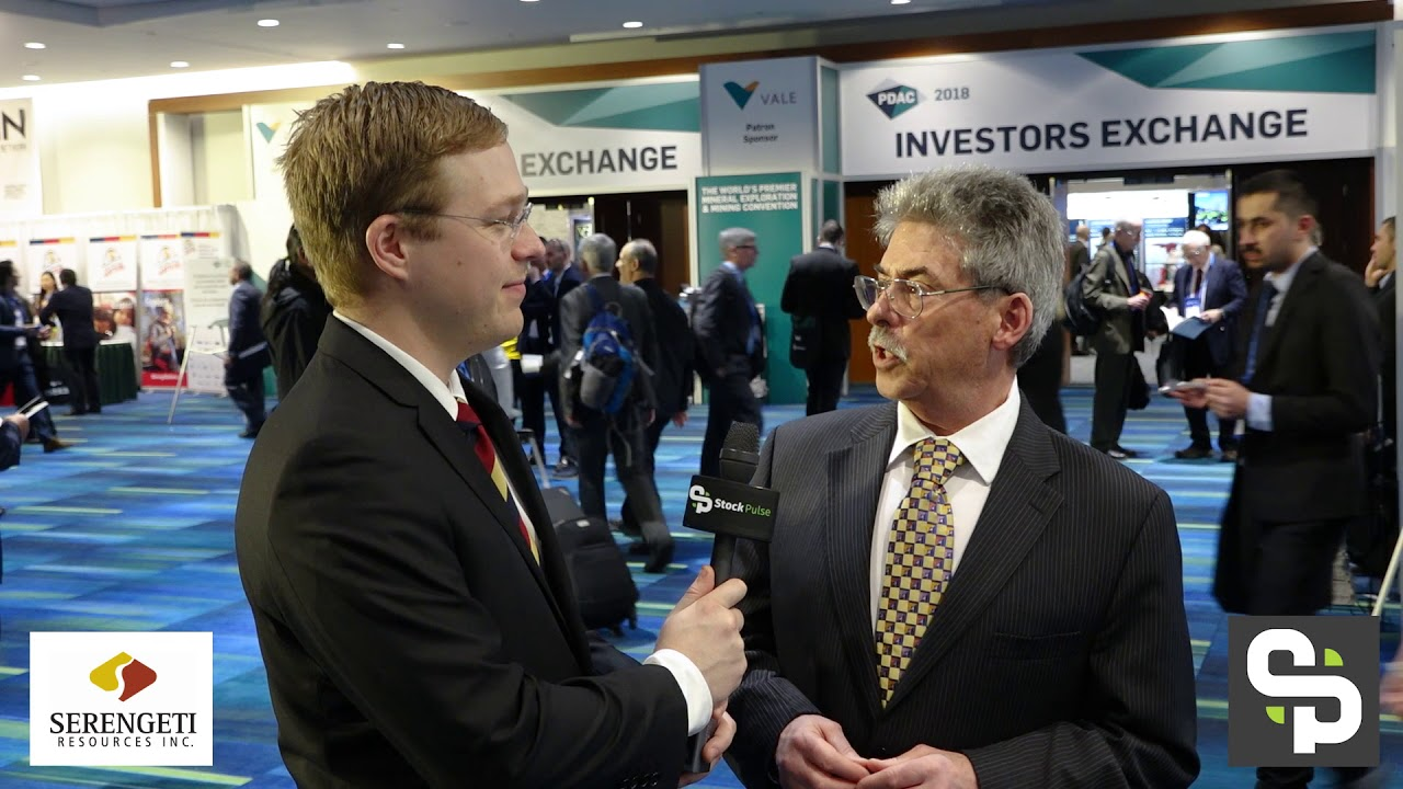 Company Update with David Moore, CEO of Serengeti Resources at the 2018 PDAC in Toronto