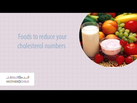 Foods to Reduce Your Cholesterol Numbers
