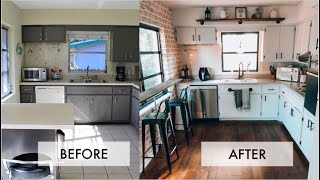 EXTREME DIY KITCHEN MAKEOVER ON A BUDGET