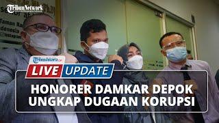 LIVE UPDATE: Honorer Damkar Kota Depok Ungkap Adanya Dugaan Kasus Korupsi Mark Up Anggaran Sepatu