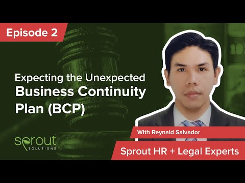 Episode 2: Business Continuity Plan (BCP) - Expecting the Unexpected